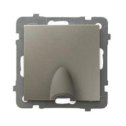Kabelanschluss - Steckdose Satin light Ospel As GPPK-1G/m/45