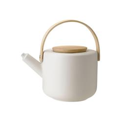 Stelton Teekanne Stelton Theo Teekanne aus Steingut sand 1,25 Liter