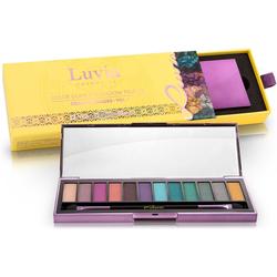 Luvia Cosmetics Lidschatten-Palette Criminal Shades Vol.1, 2-tlg., Vegane Lidschatten-Palette