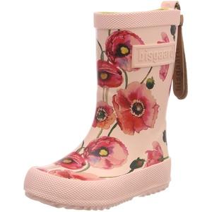 Bisgaard Mädchen Rubber Boot-Fashion Gummistiefel, Pink (Nude Flowers 179), 27 EU