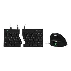 R-Go Basic Ergonomic Combo - Tastatur-und-Maus-Set