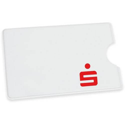 EC-Kartenhülle Sparkassen weiß VE=100 Stück