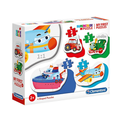 Clementoni® Puzzle My frist Puzzles 2/3/4/5 Teile - Fahrzeuge, Puzzleteile