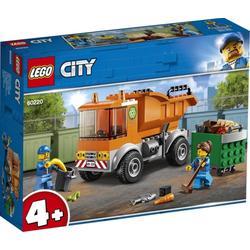 LEGO® Puzzle LEGO® City 60220 Müllabfuhr, Puzzleteile