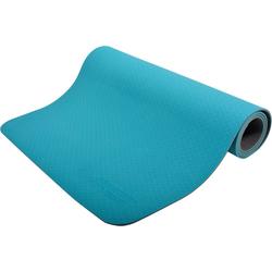 Schildkröt-Fitness Yogamatte Yogamatte 4mm, blau blau