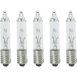 Konstsmide 3008-050 Ersatzbirne für Lichterketten 5 St. E5 24V Klar