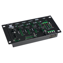 Pronomic DX-50 USB MKII 4-Kanal DJ-Mixer mit Bluetooth