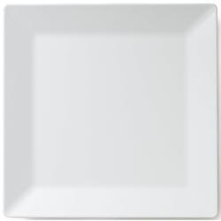 Q Squared NYC Servierplatte Melamin Servierplatte, Melamin, (1-tlg., 1 x Servierplatte) 37 cm x 37 cm x 2,2 cm