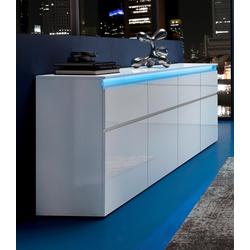 Tecnos Sideboard Magic, Breite 240 cm weiß