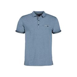Lavard Blaues Polohemd 73870  S