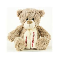 Teddys Rothenburg Kuscheltier (Teddybär Flori grau 19 cm Stoffteddybär, Plüschtiere, Teddys, Teddybären)