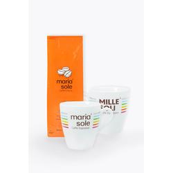 MariaSole Caffè Crema & Kaffeebecher zum Aktionspreis