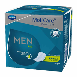 MoliCare Premium Men Pad 3 Tropfen, 14 Stück