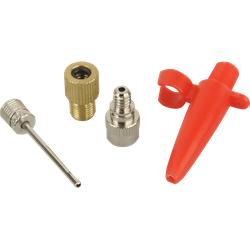 FISCHER 85618 Adapter-Set für Luftpumpen Luftpumpe