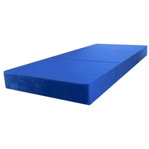 Klappmatratze Klappmatratze Faltmatratze Gästematratze Reisematratze 195x80x15 Blau, Stillerbursch, 15 cm hoch blau