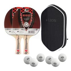 Sunflex Tischtennisschläger Sunflex 2x Tischtennisschläger Boost + Tischtennis