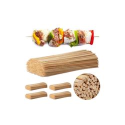 relaxdays Schaschlikspieße Schaschlikspieße aus Bambus 2500 Stück
