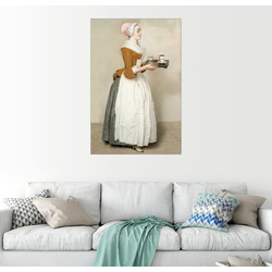 Posterlounge Wandbild, Das Schokoladenmädchen 20 cm x 30 cm