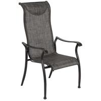 Hartman Palermo Stapelsessel 67,5 x 73,5 x 117 cm riven grey
