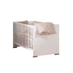 Paidi Kinderbett Carlo in kreideweiß