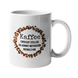 Close Up Tasse Kaffee Motivation Tasse