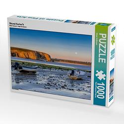 Strand Kerloc'h Lege-Größe 64 x 48 cm Foto-Puzzle Bild von Klaus Hoffmann Puzzle
