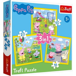 PEPPA PIG 3 in 1 Puzzle