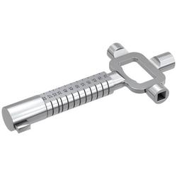 Basi 668NK Universal-Steckschlüssel Silber