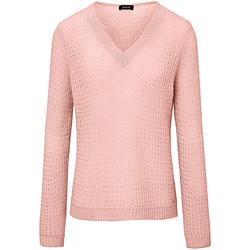 V-Pullover Basler rosé