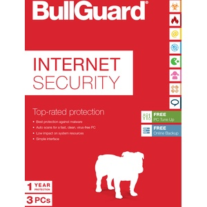 Bullguard Internet Security 2021  1 / 3 / 5 oder 10   Windows / KEY 365 TAGE