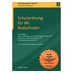 Schulordnung für die Realschulen - Buch