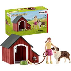 Schleich® Spielfigur Farm World, Hundehütte (42376)