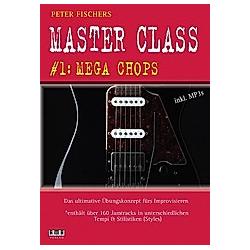 Peter Fischers Master Class - für Gitarre  m. MP3-DVD. Peter Fischer  - Buch