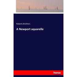 A Newport aquarelle als Buch von
