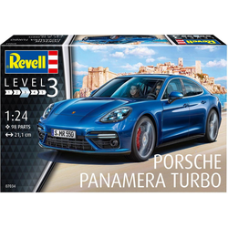 Revell® Modellbausatz Model Set Porsche Panamera Turbo, Maßstab 1:24, (Set), Made in Europe