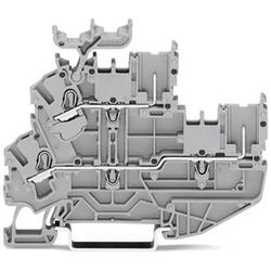 WAGO 2022-2233/999-953 Basisklemme 5.20mm Push-In-Klemme Grau 50St.
