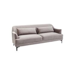 KARE Sofa Sofa Proud Grau 3Sitzer