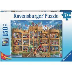 RAVENSBURGER Blick in die Ritterburg Puzzle Mehrfarbig