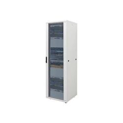 Canovate - Schrank - Netzwerkschrank - Hellgrau, RAL 7035 - 16U - 48.3 cm (19)