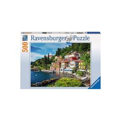 Ravensburger Puzzle Puzzle 500 Teile, 49x36 cm, Comer See, Italien, Puzzleteile