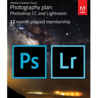 Adobe Creative Cloud Photography Plan: Photoshop CC and Lightroom ESD DE Win Mac
