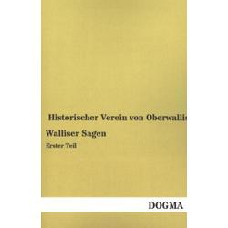 Walliser Sagen. Tl.1 als Buch von