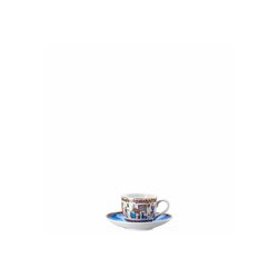 Hutschenreuther Espressotasse Espressotasse 2-tlg. Weihnachtsbäckerei Sammelkollektion 2020 (2-tlg), Porzellan