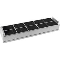 Miele DKF 1000 R Ofenteil & Zubehör Schwarz, Metallisch, Silber