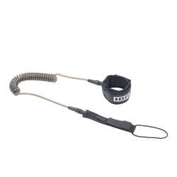 ION SUP Core Leash coiled black 2021 SUP-Leash Band Leine, Leash Längen: 10'