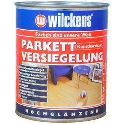 WILCKENS FARBEN Lack-Lasur Parkett Versiegelung weiß