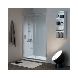 Tür 150 Cm Für Duschnische Mit Umkehrbarem Klarglas New Giada