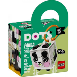 LEGO® Puzzle LEGO® DOTS 41930 Taschenanhänger Panda, Puzzleteile