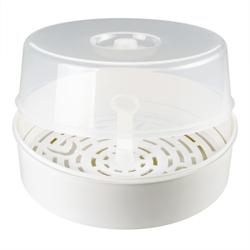 reer Vapostar Mikrowellen-Desinfektionsgerät, Schnelle & umweltfreundliche Wasserdampfdesinfektion ohne Chemikalien, 1 Stück