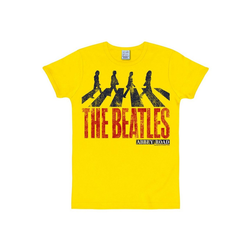 LOGOSHIRT T-Shirt mit The Beatles-Print The Beatles - Abbey Road bunt XS